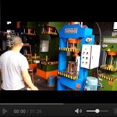 63吨龙门油压机视频
