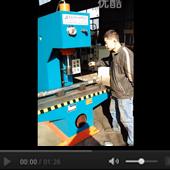 小型单臂油压机视频展示